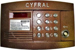 Как можно законно вскрыть домофон Цифрал